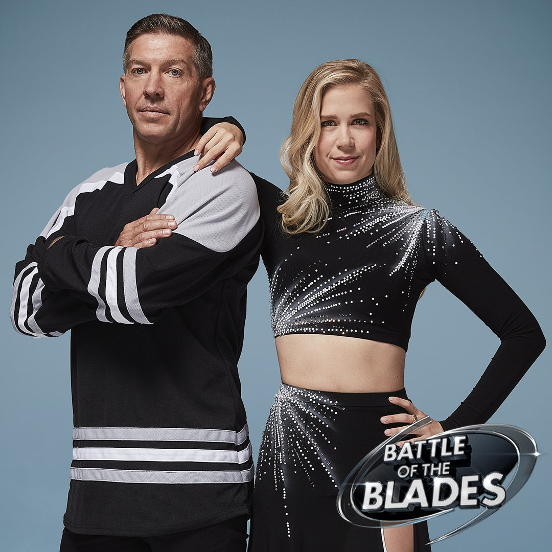 Cbc battle of the blades Sheldon Kennedy Kaitlyn Weaver