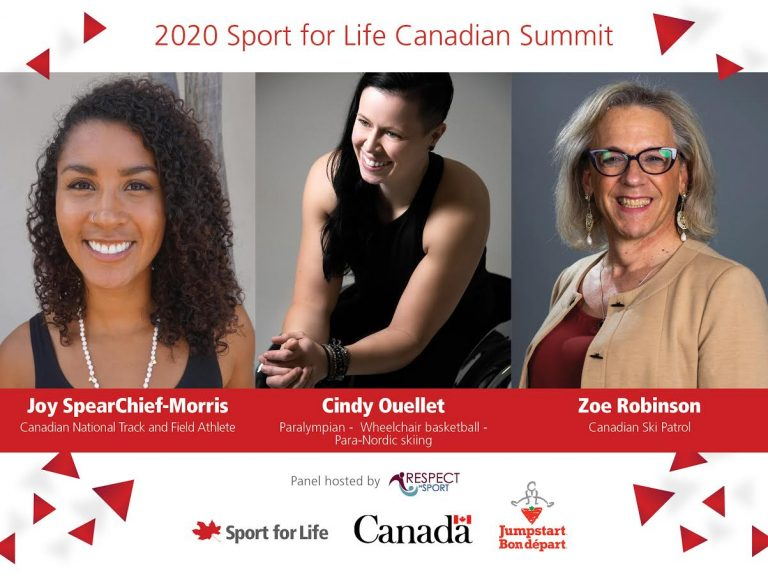2020 Sport for life Canadian Summit – Stories Of Success Panel