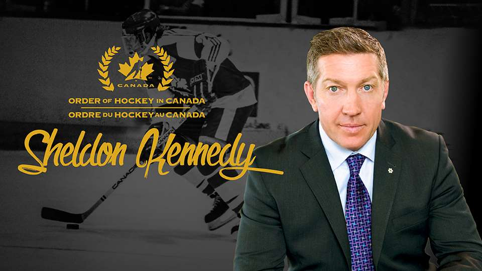 Our co-founder, Sheldon Kennedy, named to Order of Hockey In Canada
