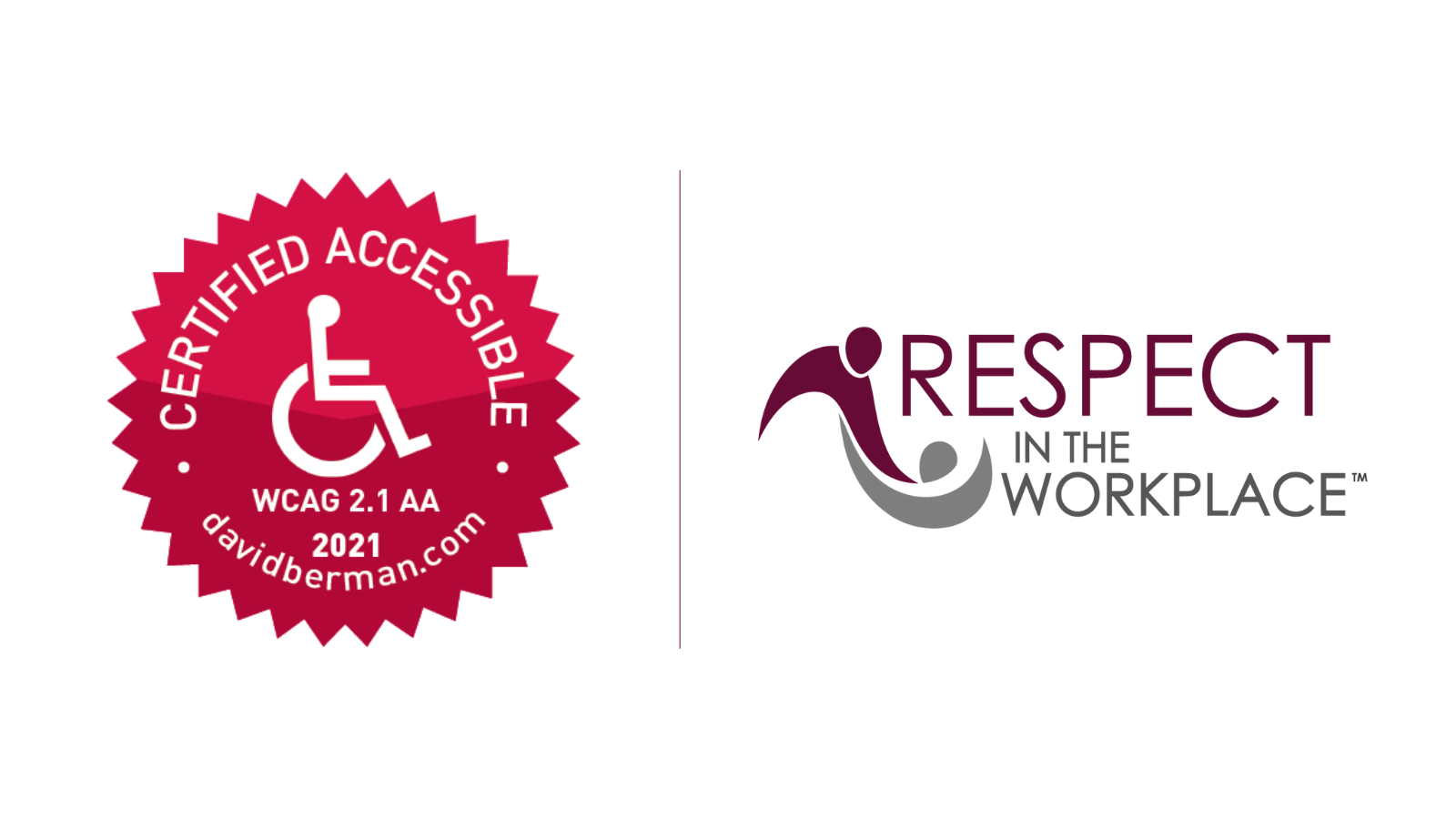 WCAG 2.1 Accessibility Certification – Respect in the Workplace program
